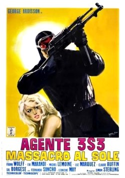 Agent 3S3 Massacre in the Sun Poster