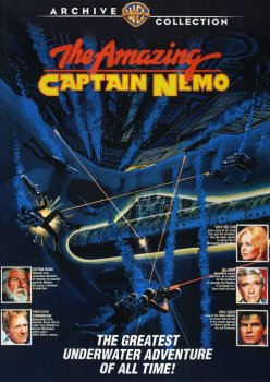 Amazing Captain Nemo DVD Cover