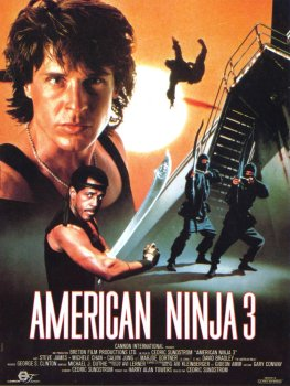 American Ninja 3 Blood Hunt Poster