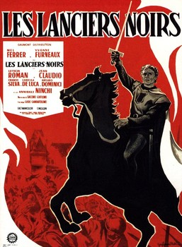 Black Lancers French Poster