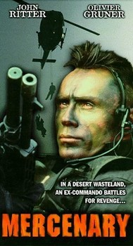 Mercenary VHS Cover