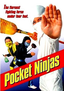 Pocket Ninjas DVD Cover