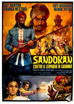 Sandokan Against Leopard Sarwark Poster