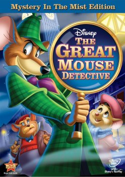 Great Mouse Detective DVD Cover 2013