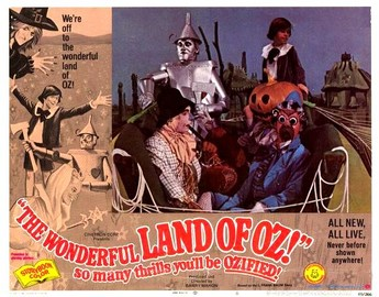 The Wonderful Land of Oz Poster