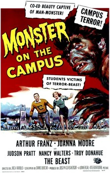 MonsterOnTheCampusPoster