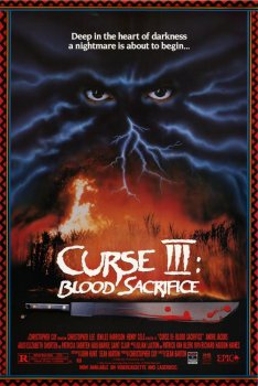 Curse III Blood Sacrifice Poster