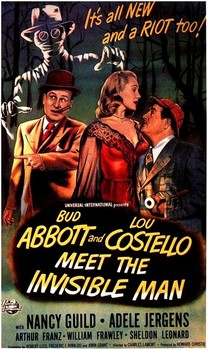 A&C Meet the Invisible Man Poster 2