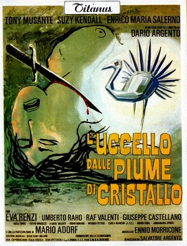 The Bird with the Crystal Plumage Italian Poster