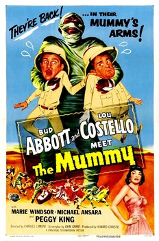 A&C Meet the Mummy Poster