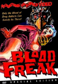 Blood Freak DVD Cover