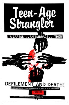 Teen-Age Strangler Poster
