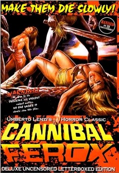 Cannibal Ferox DVD Cover