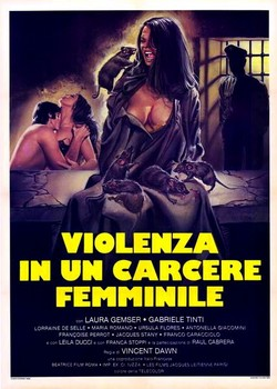 Violence in a Women's Prison Italian Poster