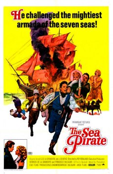 The Sea Pirate Poster