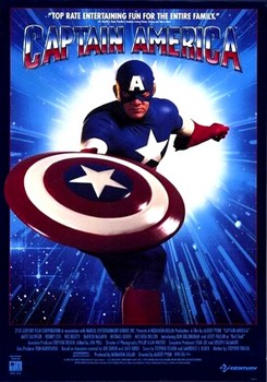 Captain America 1990 Poster