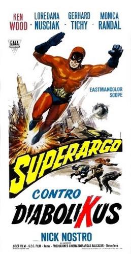 Superargo Contra Diabolikus Poster