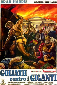 Goliath Against the Giants Italian Poster