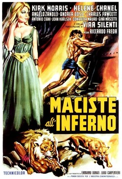 Maciste in Hell Poster