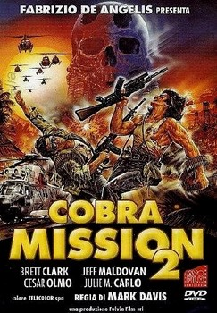 Cobra Mission TwoDVD Cover