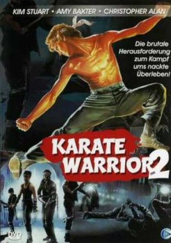 Karate Warrior 2 DVD Cover