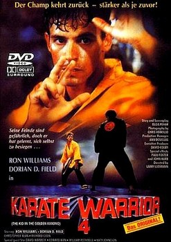 Karate Warrior 4 German DVD Cover