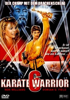 Karate Warrior 6 German DVD Cover