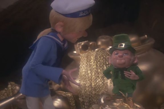 Leprechauns Christmas Gold 1