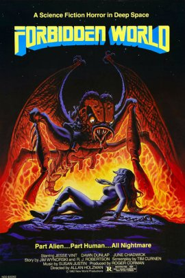 Forbidden World Poster