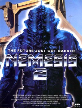 Nemesis 2 Nebula DVD Cover