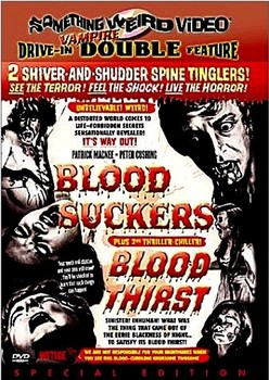 Blood Suckers Blood Thirst DVD Cover