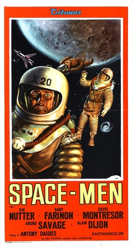 Assignment Outer Space Italian Poster