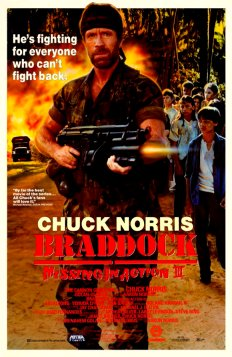 Braddock Missing in Action III Poster