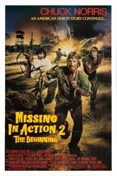 Missing in Action II The Beginning Poster