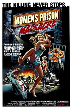 Womens Prison Massacre Poster