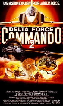 Delta Force Commando II VHS Cover