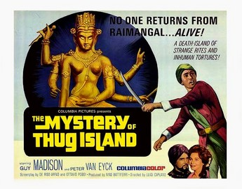 Mystery of Thug Island Poster