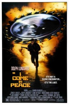 I Come In Peace Poster