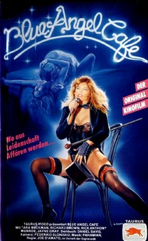Blue Angel Cafe German VHS Cover