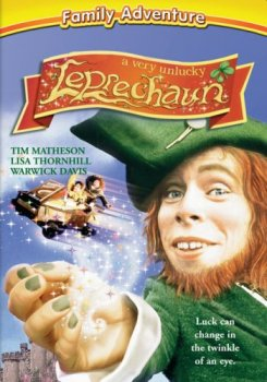 A Very Unlucky Leprechaun DVD Cover