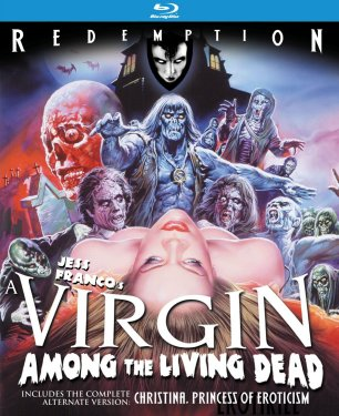 A Virgin Among the Living Dead Blu Ray Cover