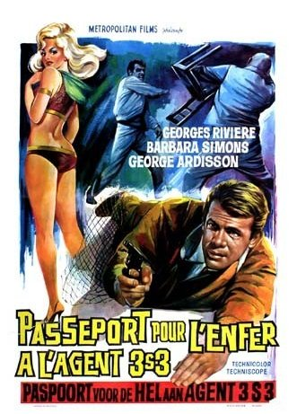 Agent 3S3 Passport to Hell Poster