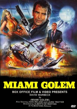 Miami Golem DVD Cover