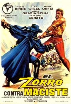 Zorro Contro Maciste Spanish Poster
