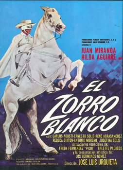 El Blanco Zorro Poster